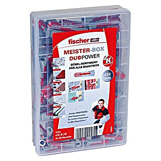 Fischer Meister-Box Dübel-Set Duopower (132-tlg.)(132-tlg.)