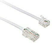 Cable para red (2 m, Blanco)