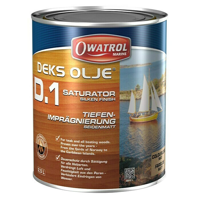 Owatrol Decks-Öl D1 (Transparent, 1 l) -