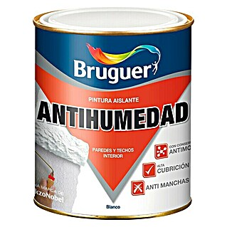 Bruguer Pintura antihumedad (Blanco, 750 ml, Mate)(Blanco, 750 ml, Mate)