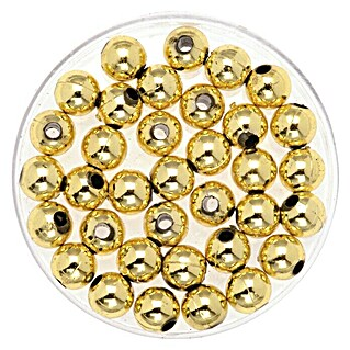 Glorex Deko-Perlen (Gold, 8 mm, 75 g)(Gold, 8 mm, 75 g)