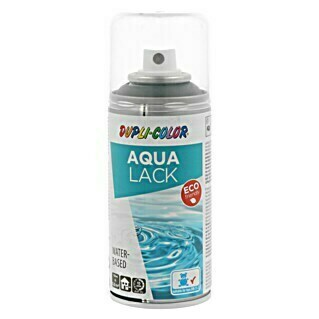 Dupli-Color Aqua Lackspray (Seidenmatt, 150 ml, Anthrazitgrau)