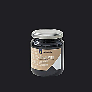 La Pajarita Pintura Matt Paint black shadow 175 ml (Mate)(Mate)
