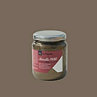 La Pajarita Pintura Metallic Paint bronze (175 ml, Brillante)(175 ml, Brillante)