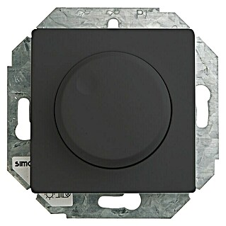 Simon 82 Regulador luminoso (Negro, En pared, Aluminio)(Negro, En pared, Aluminio)