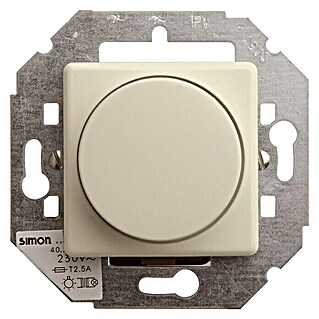 Simon 27 Regulador luminoso (Blanco crema, Aluminio, En pared)(Blanco crema, Aluminio, En pared)