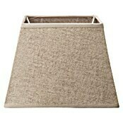 Home Sweet Home Lampenschirm Melrose (L x B x H: 20 x 20 x 14 cm, Taupe, Stoff, Eckig)