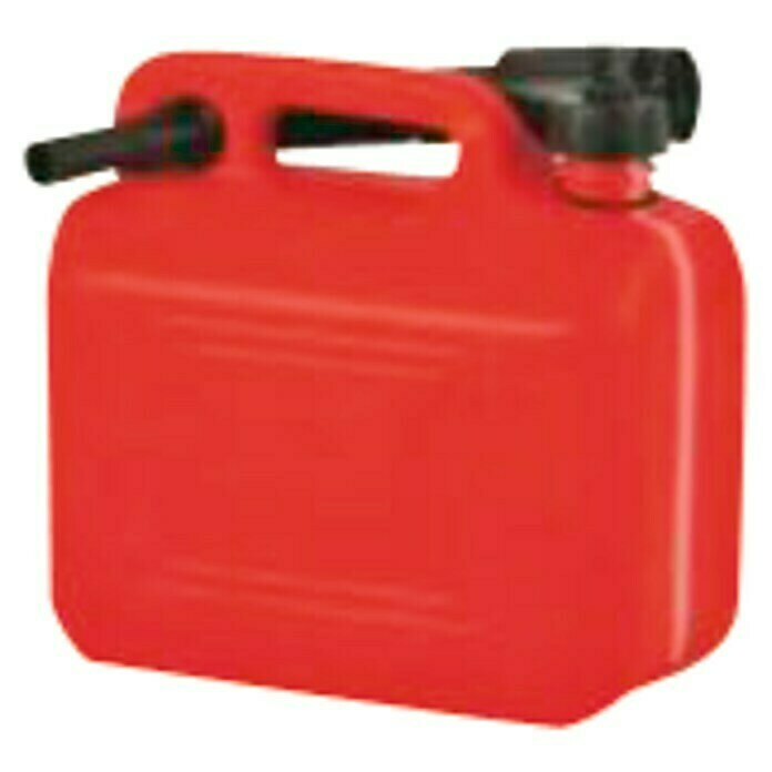 Bidón tipo Jerry Can 10 l (Rojo)