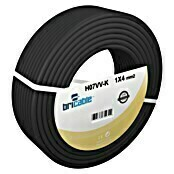 Bricable Cable unipolar fase 1x4 (H07V-K1x4, 25 m, Negro)