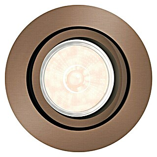Philips Foco empotrable Donegal (5,5 W, Bronce, L x An x Al: 9 x 9 x 7 cm)(5,5 W, Bronce, L x An x Al: 9 x 9 x 7 cm)