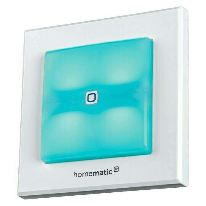 Homematic IP Funkschalter (52 x 86 x 86 mm, Weiß, 230 V/50 Hz)
