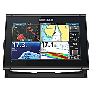 Simrad Fishfinder & GPS-Kartenplotter Go9 XSE ROW (Geber: Active Imaging 3-in-1-Geber, Bildschirmtyp: 9″/220,9 mm TFT Super Wide View)(Geber: Active Imaging 3-in-1-Geber, Bildschirmtyp: 9″/220,9 mm TFT Super Wide View)