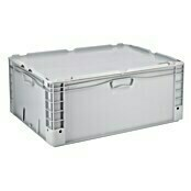 Surplus Systems Eurobox (L x An x Al: 80 x 60 x 32 cm, Plástico, Gris)
