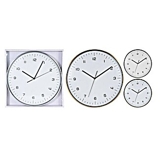 Reloj de pared redondo Gold and Silver (Multicolor, Diámetro: 40 cm)(Multicolor, Diámetro: 40 cm)