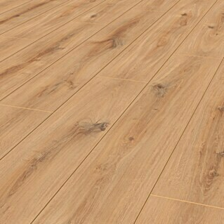 LOGOCLIC Aquaprotect Laminat Sunset Oak (1.285 x 192 x 8 mm, Landhausdiele)(1.285 x 192 x 8 mm, Landhausdiele)