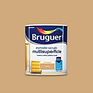 Bruguer Esmalte de color Acrylic Multisuperficie avellana (750 ml, Satinado)(750 ml, Satinado)