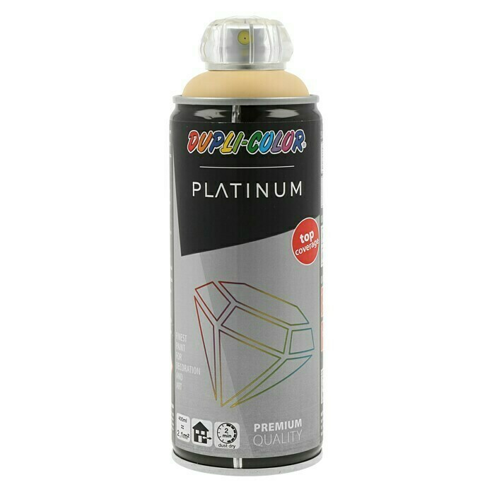 Dupli-Color Platinum Buntlack-Spray (Pfirsichorange, 400 ml, Seidenmatt)