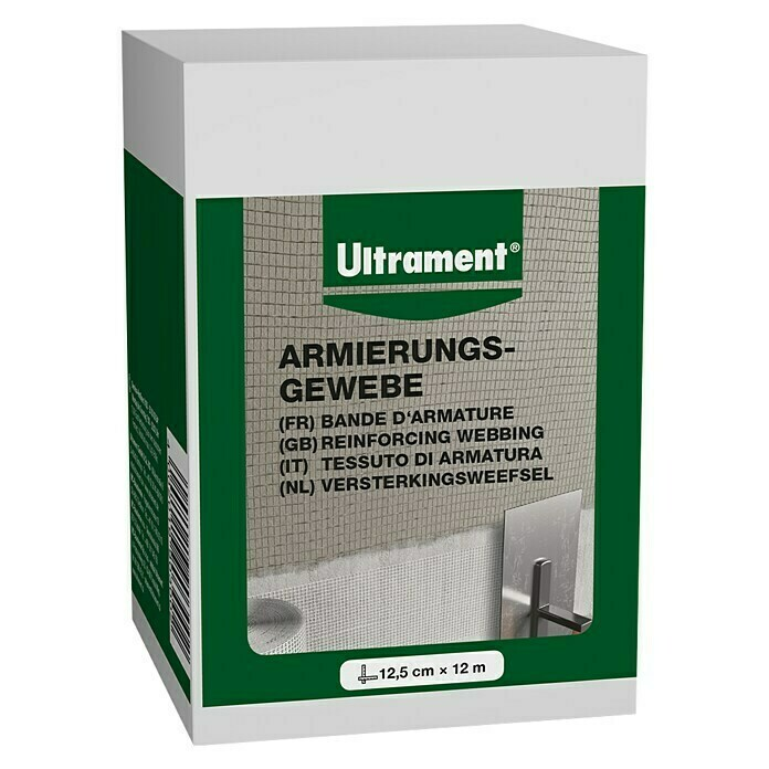 Ultrament Armierungsgewebe Do it (12 m x 12,5 cm) - 86190120925008