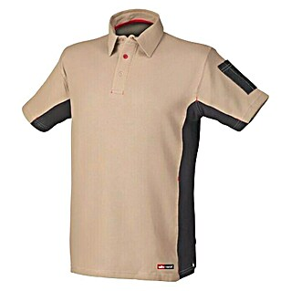 Industrial Starter Polo Stretch (Beige, L)(Beige, L)