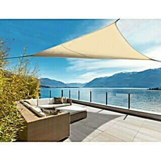 Nortene Toldo vela Sunnet Kit Triangular (3,4 x 3,4 m, Beige)
