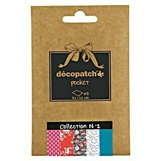 Décopatch Papel decorativo Pocket N2 (40 x 30 cm, Papel)(40 x 30 cm, Papel)