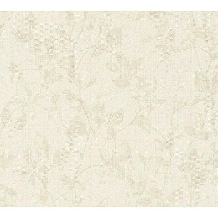 AS Creation Hygge Vliestapete Floral (Beige, Floral, 10,05 x 0,53 m) -