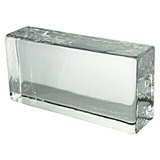 Fuchs Design Glasziegel Crystal Collection (Klar, Vollsicht, 20 x 10 x 5 cm)(Klar, Vollsicht, 20 x 10 x 5 cm)