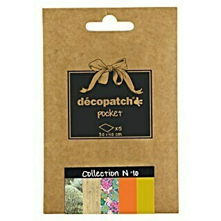 Décopatch Papel decorativo Pocket N10 (40 x 30 cm, Papel)(40 x 30 cm, Papel)