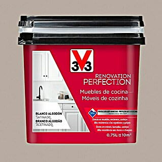 V33 Esmalte Cocinas Renovation Perfection (Topo, 750 ml, Satinado)(Topo, 750 ml, Satinado)