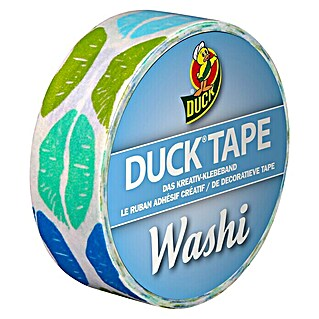 Duck Tape Kreativklebeband Washi (Aqua Kiss, 10 m x 15 mm)(Aqua Kiss, 10 m x 15 mm)
