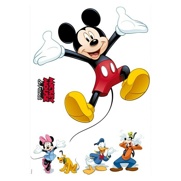 Komar Wandtattoo (Mickey and Friends, 50 x 70 cm) -