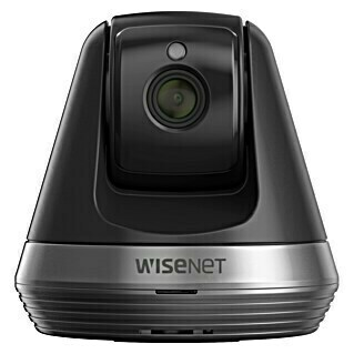 Wisenet Cámara IP de interior WiFi Full HD (Negro, Funcionamiento en red, 1.920 x 1.080 píxeles (Full HD))(Negro, Funcionamiento en red, 1.920 x 1.080 píxeles (Full HD))