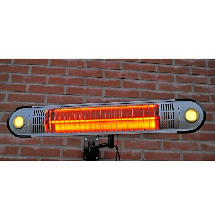 Sunred Wandheizstrahler Wall (1.500 W, Halogen, LED Beleuchtung)