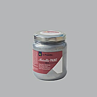 La Pajarita Pintura Metallic Paint silver (175 ml, Brillante)(175 ml, Brillante)