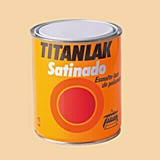 Titan Titanlak Esmalte de poliuretano (Cream, 750 ml, Satinado)(Cream, 750 ml, Satinado)