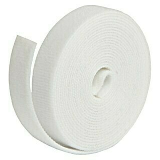 Label The Cable Klettband Roll Strap (Weiß, 3 m x 16 mm x 2 mm)(Weiß, 3 m x 16 mm x 2 mm)