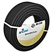 Bricable Cable eléctrico RV-K3G1,5 (RV-K3G1,5, 50 m, Negro)