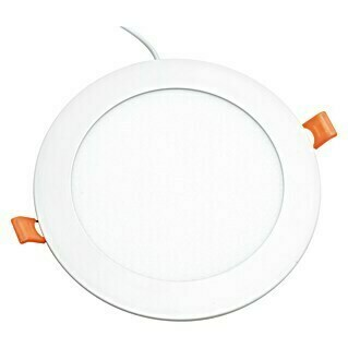 Alverlamp Downlight LED empotrable redondo Blanco (18 W, Color de luz: Blanco neutro, Ø x Al: 22,5 x 2 cm, No regulable)(18 W, Color de luz: Blanco neutro, Ø x Al: 22,5 x 2 cm, No regulable)
