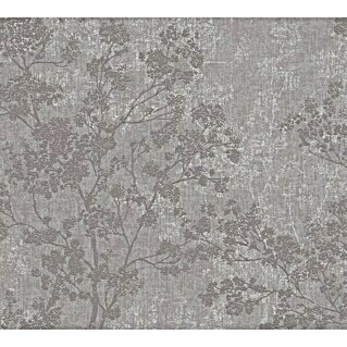 AS Creation New Walls Vliestapete Bäume (Taupe, Floral, 10,05 x 0,53 m)(Taupe, Floral, 10,05 x 0,53 m)