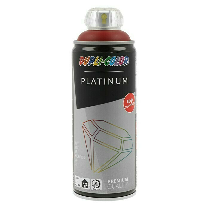 Dupli-Color Platinum Buntlack-Spray RAL 3004 (Purpurrot, 400 ml, Seidenmatt)