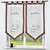 HOME Fashion Fensterbehang (60 x 120 cm, 100 % Polyester, Braun)