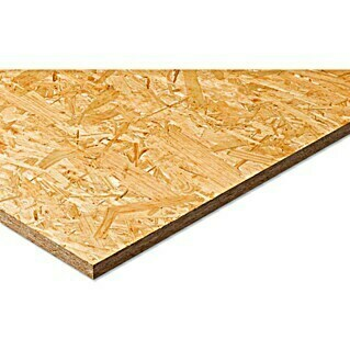 OSB-Platte Fixmaß stumpf (Holz Mix, 2.500 x 1.250 x 22 mm)