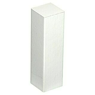 Profiles and more Esquina (18 x 18 x 62 mm, Blanco, 2 uds.)(18 x 18 x 62 mm, Blanco, 2 uds.)