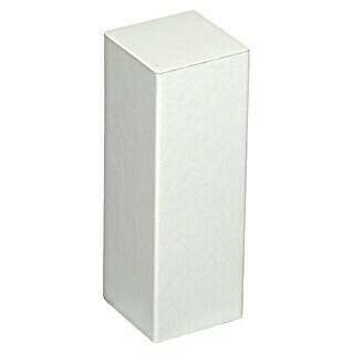 Profiles and more Esquina (22 x 22 x 62 mm, Blanco, 2 uds.)(22 x 22 x 62 mm, Blanco, 2 uds.)