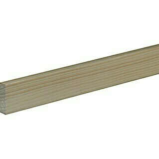 Profiles and more Flachleiste (1 m x 40 mm x 13 mm, Fichte/Kiefer, Unbehandelt)(1 m x 40 mm x 13 mm, Fichte/Kiefer, Unbehandelt)