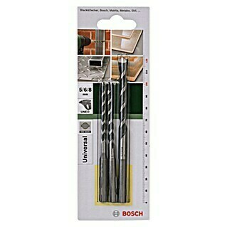 Bosch Set brocas multiuso SDS-Quick (3 piezas)(3 piezas)