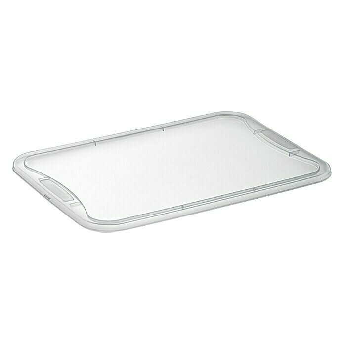Regalux Clear Box-Deckel (L x B: 54,8 x 38,4 cm, Passend für: Regalux Clear Boxen M - L - XL)