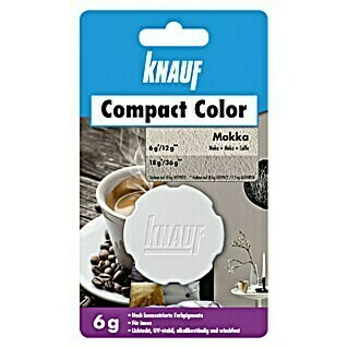 Knauf Putz-Abtönfarbe Compact Color (Mocca, 6 g)(Mocca, 6 g)