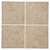 Antikmarmor Travertin Chiaro (30,5 x 30,5 cm, Beige, Matt)