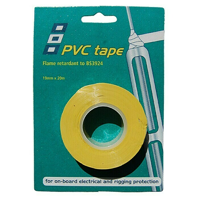 PSP Electrical & Rigging Tape (Gelb, 20 m x 19 mm) - 34316009